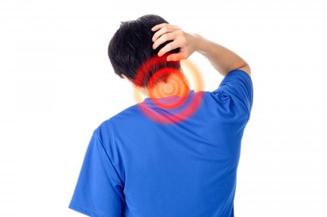 むち打ち症の方の写真